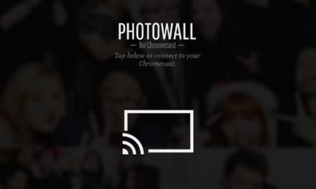 Photowall: Google quiere las fotografías de nuestros dispositivos iOS en su Chromecast