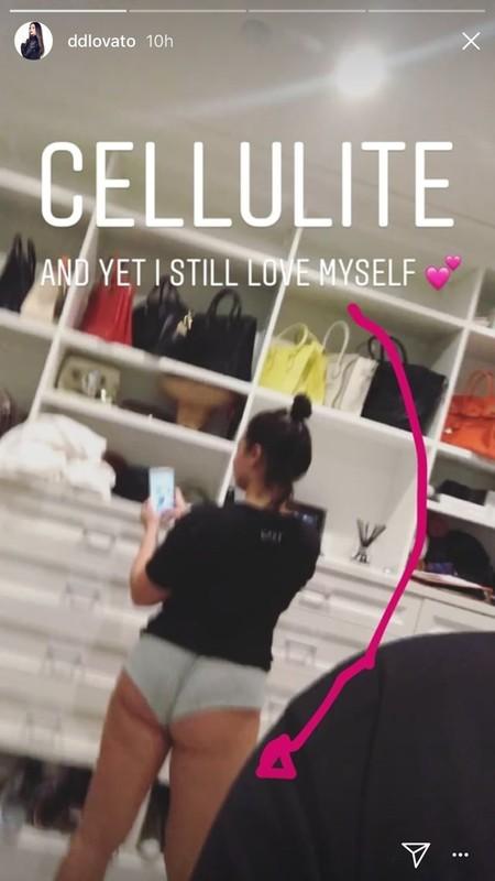 Demi Lovato Body Positive 1