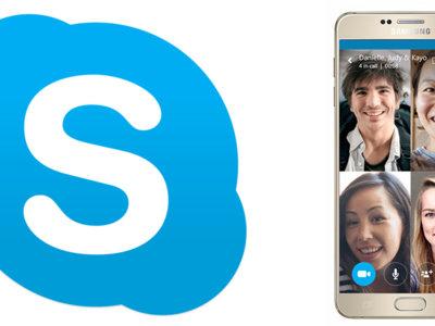 Así son las videollamadas en grupo de Skype para Android ¡ya disponibles en España!