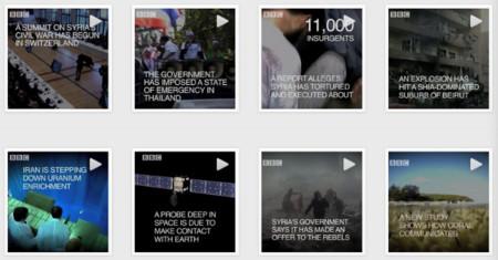 Los vídeos de Instagram se convierten en un soporte para las noticias de la BBC