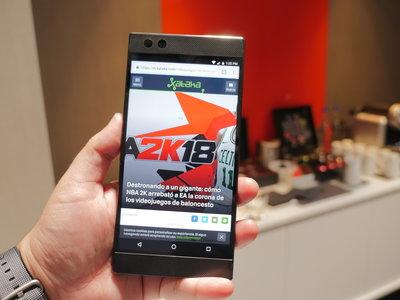 Razer Phone: sonido Dolby Atmos, 8GB de RAM y pantalla de 120Hz para enamorar a los gamers