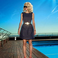 Dolores Promesas Resort 2013: estilo navy en todas las versiones posibles