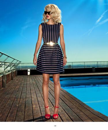 Dolores Promesas Resort 2013: estilo navy en todas las versiones posibles