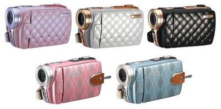 DXG Luxe Collection, videocámaras con llamativos estampados