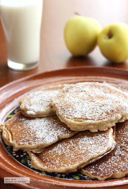 Hotcakes Manzana Canela