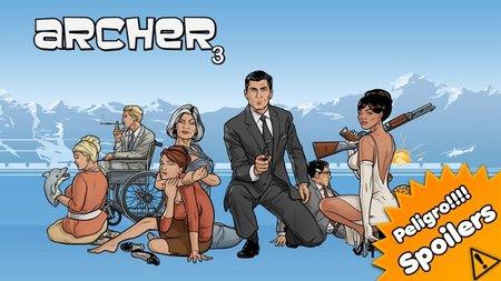 'Archer' comienza brillante su tercera temporada