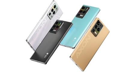 Zte Axon 30 Ultra 5g Oficial Diseno Colores