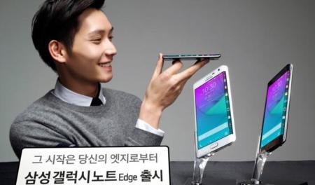 Samsung Galaxy Note Edge se estrena en Corea a un precio de 800 euros