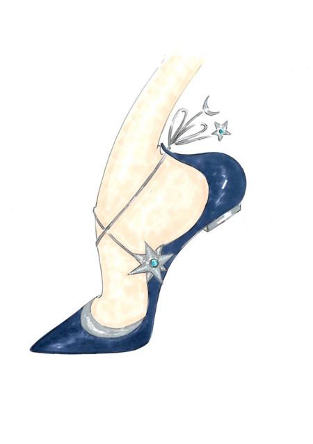 Poppy Delevingne X Aquazzura Collaboration Sketch Shoes 4 1024x1449