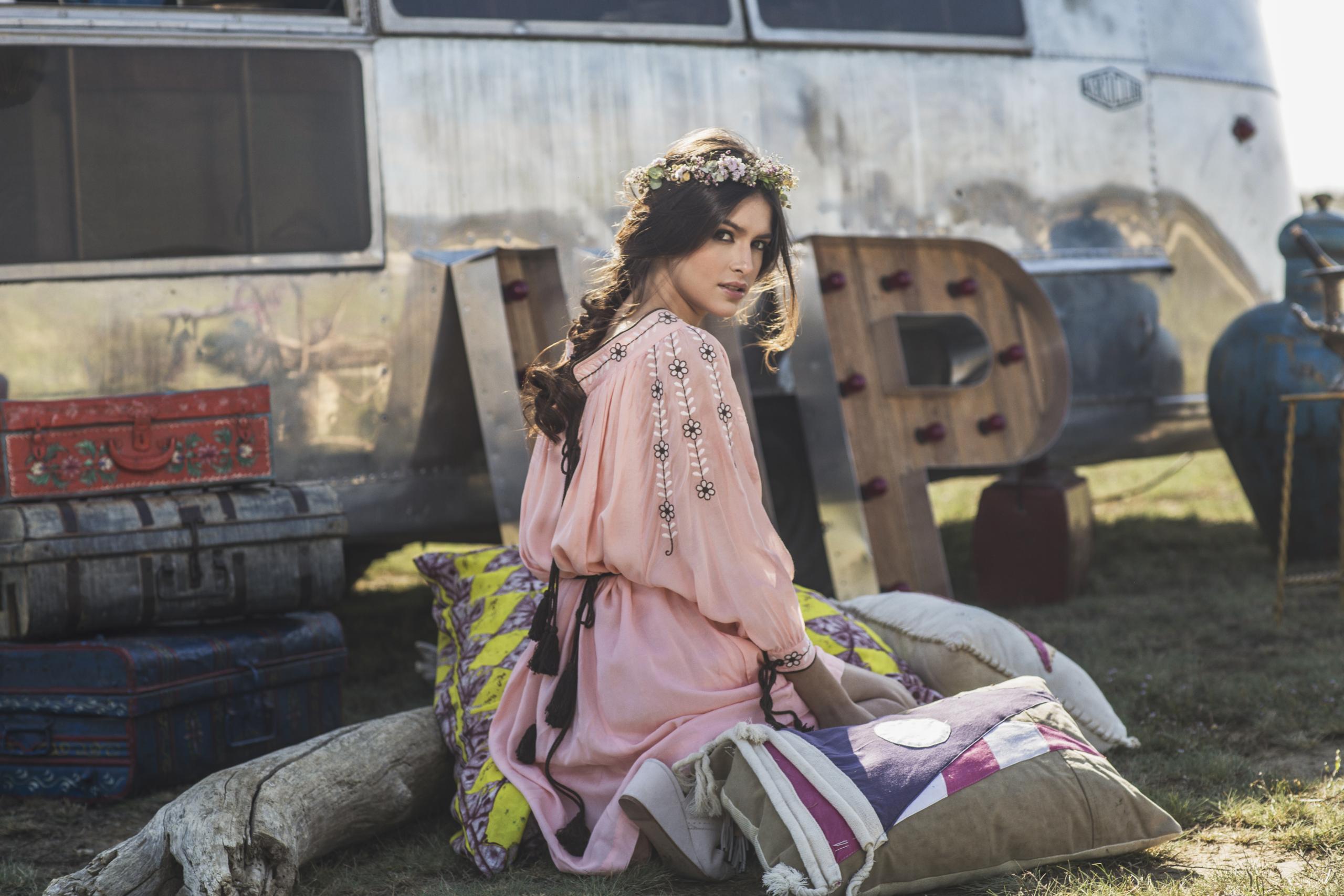 Foto de Lucía Rivero Romero imagen de la campaña Highly Preppy (10/11)