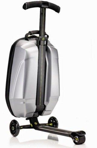 Micro Samsonite: maleta con patineta incorporada
