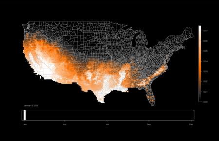 Gracias a estos mapas puedes seguir los movimientos migratorios de todas las aves del mundo