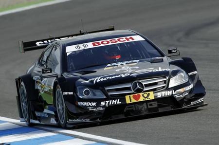 Victoria de Gary Paffett en la primera carrera del nuevo DTM