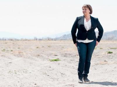 Lisa Jackson VP de iniciativas medioambientales de Apple explica los esfuerzos de Apple en política medioambiental