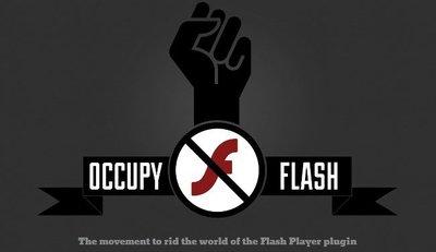 Occupy Flash, una nueva iniciativa para hacer desaparecer la plataforma de Adobe