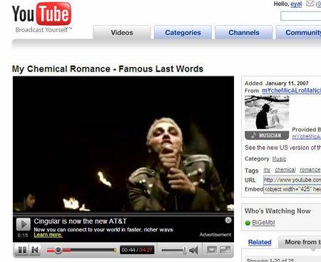 Youtube ya muestra anuncios en los vídeos