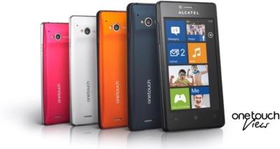 Alcatel One Touch View, uno de los WP7.8 que están por llegar
