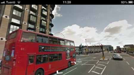 google maps ios street view