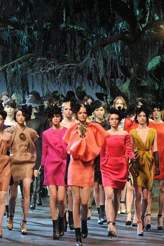 Lanvin en la Semana de la Moda de París otoño-invierno 2011/2012