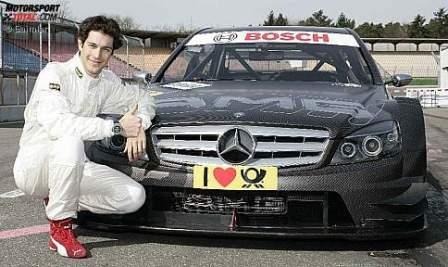 Bruno Senna prueba el Mercedes de DTM