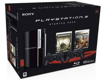 Nuevo starter pack de PlayStation 3 en Europa