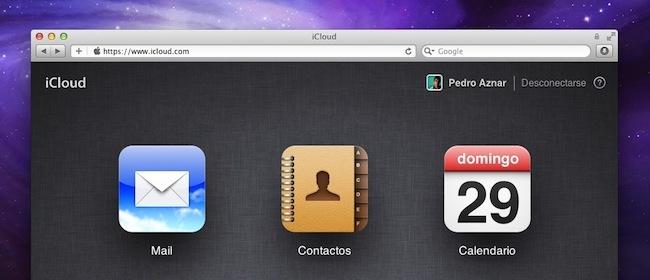 Restaurar backup Agenda en iCloud