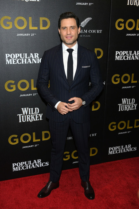 Edgar Ramirez Gold Premiere Red Carpet