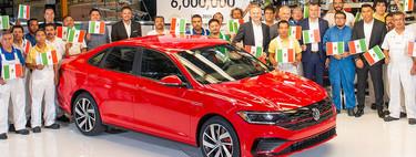 Volkswagen fabrica la unidad 6 millones del Jetta en México