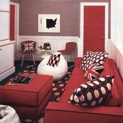 Foto 6 de 9 de la galería decorar-en-rojo-y-blanco en Decoesfera