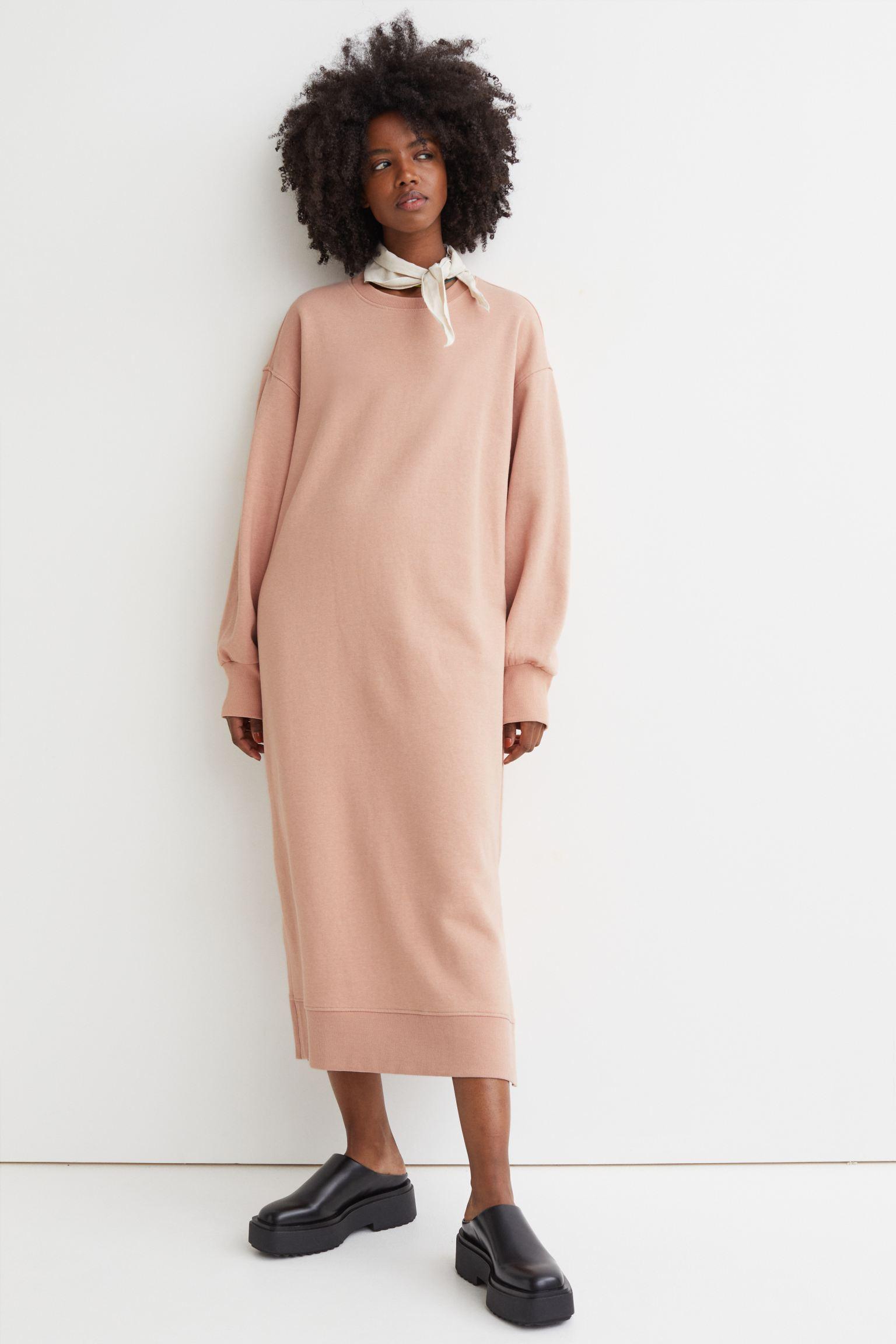 Vestido sudadera oversize