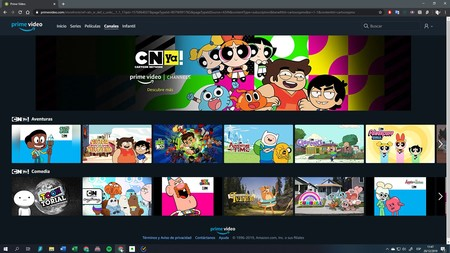 Cartoon Network Canal Amazon Prime Video