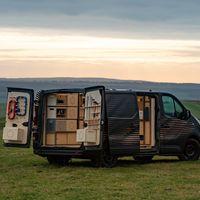 El Nissan NV300 Concept propone un taller de carpintería móvil