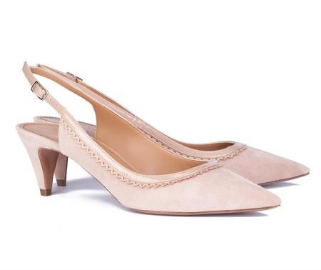 Zapatos Nude Destalonados Pura Lopez Magnolia 1