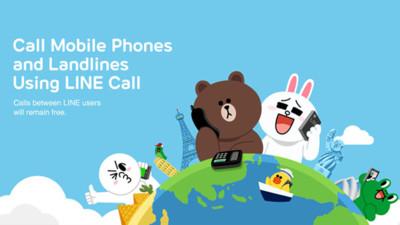 LINE para Android añade las llamadas a móviles y fijos