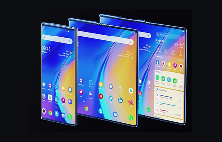 El TCL Fold 'n Roll es un intrigante móvil con pantalla enrollable que se transforma en una tableta de 10 pulgadas
