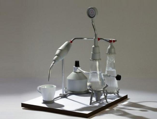 cafetera científico