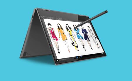 De 1500 euros a 949 euros, el ofertón del Cyber Monday en Amazon: Lenovo Yoga 730 con i7-8550U, 16GB RAM y 512GB SSD