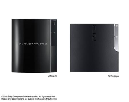 Sony Ps3 Slim comparación