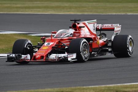 Vuelven las cúpulas a la Fórmula 1. Sebastian Vettel prueba un nuevo escudo en Silverstone