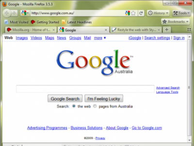 Pon la futura interfaz de Firefox 3.7 hoy con la extensión Strata