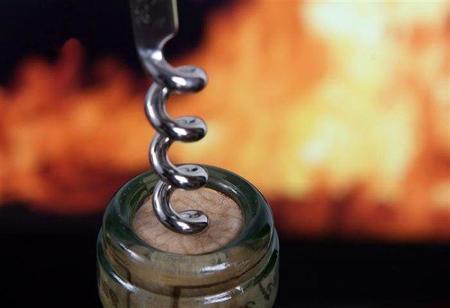 Botella con fuego 2