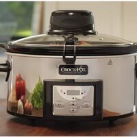 Ofertón de Amazon en la olla de cocción lenta Crock-Pot AutoStir CSC012X: ahora puede ser nuestra por 87,70 euros