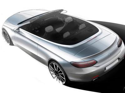 ¡Mercedes-Benz Clase C Cabrio a la vista! Lo conoceremos en Ginebra