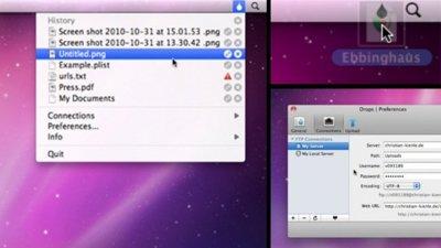 Drops, sencilla aplicación para subir archivos a tu FTP rápidamente