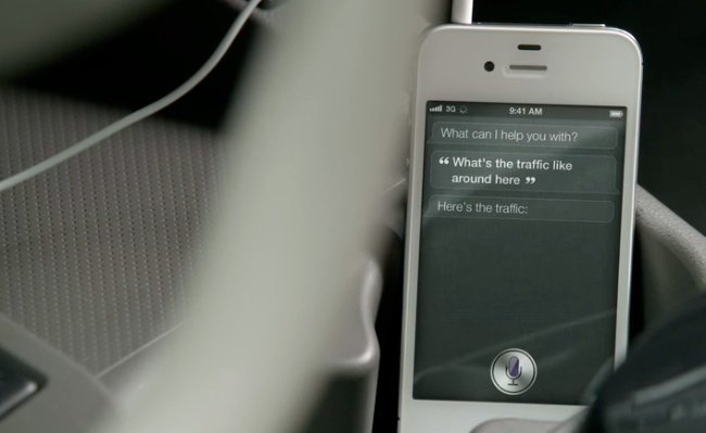 siri iphone 4s apple
