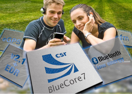 BlueCore7 combina Bluetooth low energy, GPS y radio en un chip
