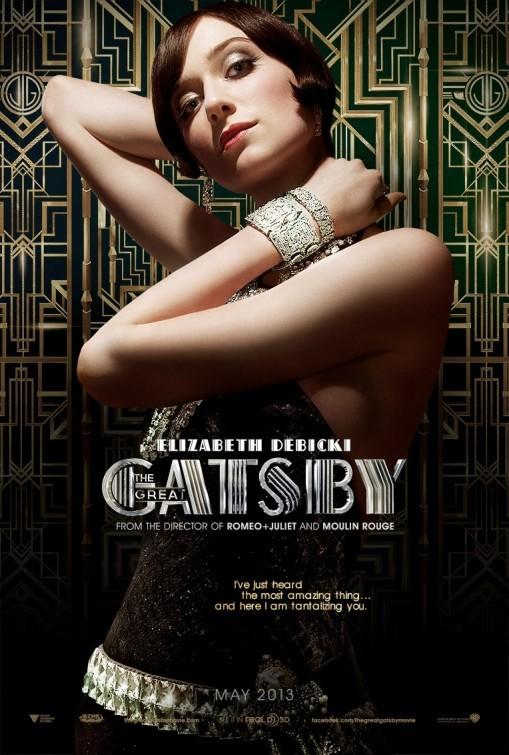 'El gran Gatsby', carteles de los protagonistas