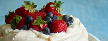 Tarta Pavlova clásica y tradicional: receta con y sin Magimix Cook Expert