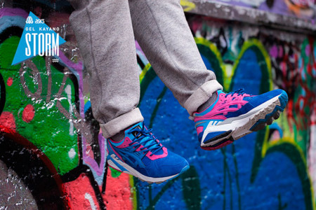 Asics Tiger Footpatrol Gel Kayano Blue 3