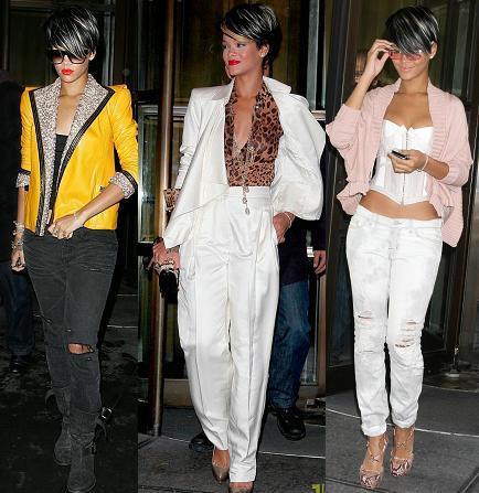 Los looks de Rihanna en Nueva York: nuevo estilo ¿sí o no?